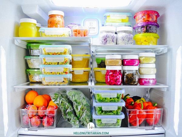 Mẹo bảo quản thực phẩm tươi trong tủ lạnh