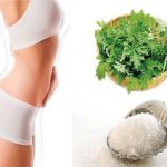 Cách giảm mỡ bụng bằng chườm ngải cứu