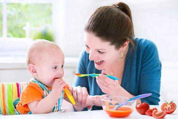 Chế độdinh dưỡngcho trẻ 8 tháng tuổi