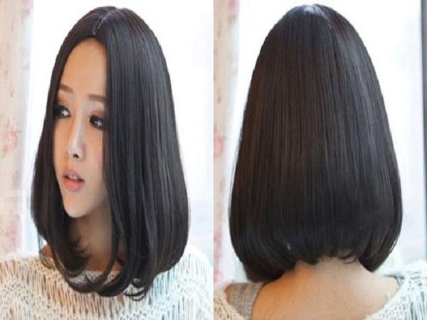 Kiểu tóc ngắn ép phồng đẹp