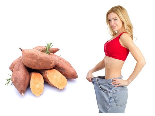 ăn khoai lang giảm cân nhanh nhất