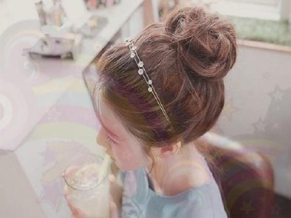 Cách búi tóc đẹp - Búi rối
