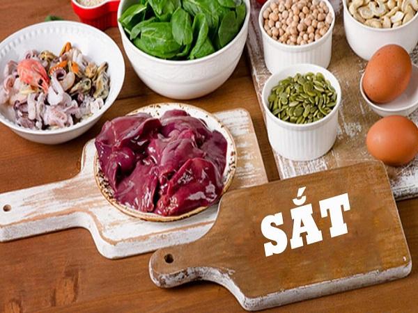 Gan và nội tạng động vật là thực phẩm bổ sung sắt