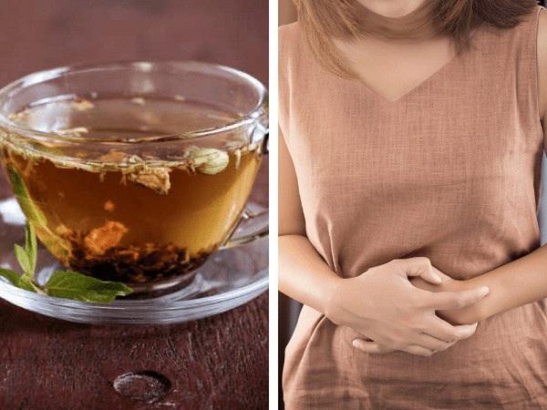 Uống trà - cách chữa tiêu chảy