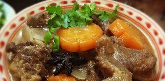 Cách nấu gân bò nhanh mềm ăn lạ miệng thơm ngon
