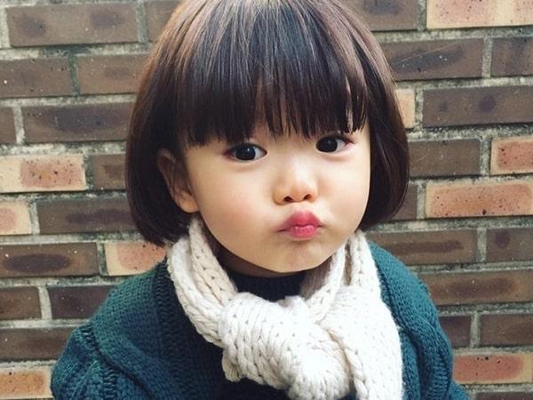 Những kiểu tóc ngắn cho bé gái dễ thương nhất năm