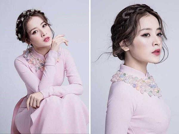 Kiểu tóc mặc áo dài cực xinh cho phái đẹp đón Tết