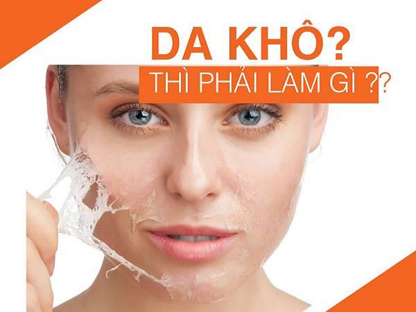 Cách chăm sóc da khô tại nhà đơn giản và hiệu quả nhất