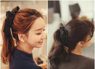 Cách buộc tóc đẹp: buộc kiểu đuôi ngựa đầy năng động