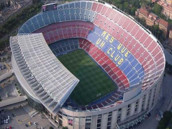 Camp Nou – Tây Ban Nha - sân bóng đá lớn nhất thế giới