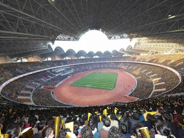 Top sân vận động lớn nhất thế giới