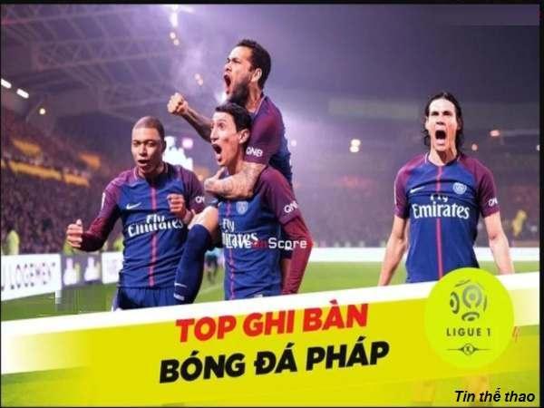 top ghi bàn bóng đá Pháp