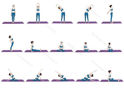 Các tư thế yoga nên tránh khi mang thai